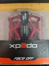 Xpedo Face Off 13 platform Pedals Red