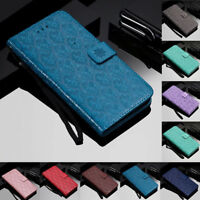 For Huawei Honor 8X 8C 9i 10 Magnetic Flip Stand Card Wallet Leather Case Cover