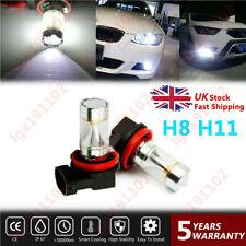 2PC H8 H11 6000K White 60W CREE Fog Light DRL Bulb For Vauxhall Astra Mk5 Vxr