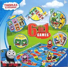 THOMAS THE TANK ENGINE 6 IN 1 GAMES COMPENDIUM RAVENSBURGER - BRAND NEW & SEALED