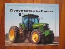 John Deere 7810 7710 7610 7410 7210 Tractor Brochure