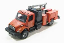 N Scale FL-M2 Class Hydraulic Service Truck Hi-Rail Kit Showcase Miniatures (72)