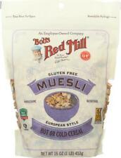 Bob's Red Mill-Muesli Gluten Free - European Style, Pack of 4 ( 16 OZ )