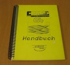 Commodore 64-gbasic 64 MANUALE-MANUAL GERMAN