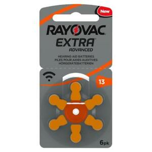 Rayovac Extra Advanced Hearing Aid Batteries Size 13 - LOW PRICE!