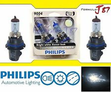 Philips Crystal Vision Ultra 9004 HB1 65/45W Dos Bombillas Faro Doble Haz H / L