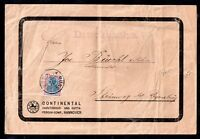 Germany 1922 2m (SC) perfin Deutsches Reich commercial cover WS11852