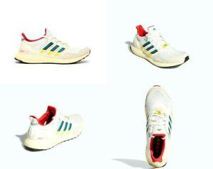 Adidas UltraBOOST 1.0 DNA ZX 6000 Cream Green Red Mens Size 10 W 11 NIB HO5265