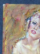 Art moderne LE MEPRIS Brigitte Bardot par Fabrice DEGUY