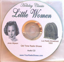 Little Women 1 CD 60 Minute Audio-Lux Radio Broadcast-1950_Old Time Radio Shows
