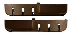 VOLVO 240 door pocket map pocket door panel BROWN color pair new  set of 2
