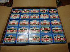 Case of 1990 Topps Debut Sets ( 50 sets / Case)