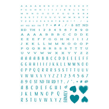 Screen Sensation A4 Stamp Alphabet Set - BNIP - RRP £22.99