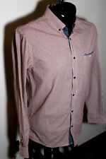 Men's BRUNSWICK by Cotton On Red Checkered Shirt Size L