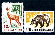 Bulgarien_1958 Mi.Nr. 1059-1062 Waldtiere