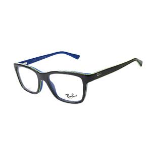 New Ray Ban Kids Eyeglasses RB 1536 3600 Gray on Blue Junior Frame 48-16-130