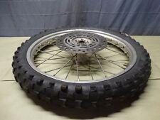 1999 HONDA CR80R cr80r cr 80 Front Wheel 17 inch wheel front hub B132 cr 80r