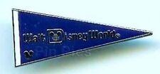 Disney Pin: WDW - 2010 Hidden Mickey Series - Walt Disney World Pennant - Blue