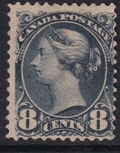 Canada 1893 SG#120, 8c Blackish Purple QV Mint no gum