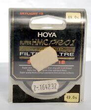 HOYA Filter 49.0smm SUPER HMC PRO1 SKYLIGHT 1B
