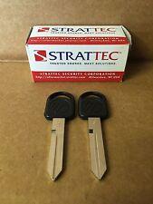 Set Of 2: Genuine OEM Strattec Mercury Key Blank With Logo 597037 011-R0224