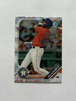 2019 Bowman Chrome Yordan Alvarez Houston Astros Card #BCP-123