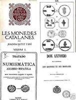 DVD 254 libros sobre monedas y medallas de España y Portugal blanca real dinero