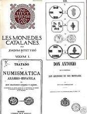 DVD 170 libros sobre monedas y medallas de España y Portugal blanca real dinero