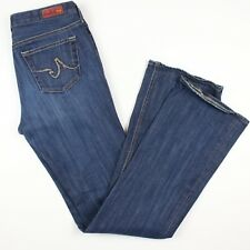 AG Adriano Goldschmied Women's Jeans 28x32 The Elite Medium Wash Made In USA