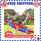 Airplane Hand Throwing Glider Capacitor Electric Aircraft Foam Inertial Plane