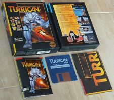 TURRICAN ~ Commodore Amiga ~ OVP/BOXED ~ SIGNIERT/SIGNED Manfred Trenz ~ english