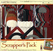 Scrapbook Kit ~ Handmade Papers Scrapper's Pack Sports & Recreation #735-6715