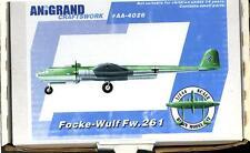 Anigrand 1/144 FOCKE WULF Fw-261 German Bomber Project