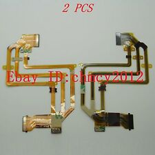 2pcs LCD Flex Cable For SONY HDR-HC5E HDR-HC7E HDR-HC9E HDR- SR10E SR210E SR220E