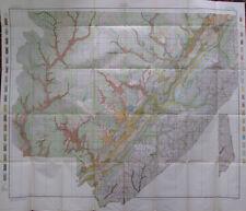 Color Soil Survey Map Jackson County Alabama Bridgeport Scottsboro Pisgah 1911