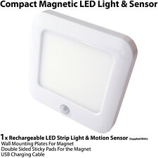 1x Rechargeable Magnetic LED Light & Motion Sensor – Cupboard/Cabinet Mini Spot