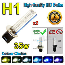 H1 3000k HID 35w Replacment Bulbs AC Xenon Metal Base Headlight Uk Seller 3k