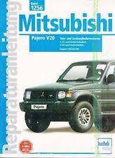1990 - 1999 MITSUBISHI PAJERO V20 WERKSTATTHANDBUCH REPARATURANLEITUNG NEU