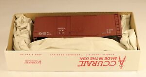 Accurail #3898 40' Combo Door Box Car Kit Data Mineral Red 1/87 HO Scale