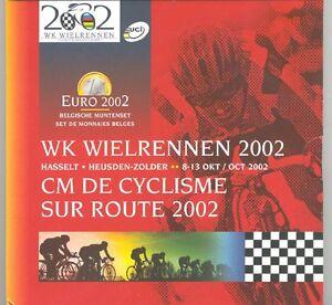Belgium 2002 - Official (BU) Euro Coin Set - Road World Champion Racing