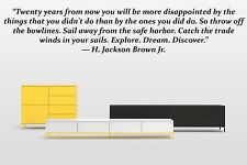 Vinyl Wall Decal Sticker Decor Saings Quotes Motivation H.Jackson Brown F1996