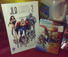 Justice League: Crisis on Two Earths DVD *PLUS* DC JLA Earth 2 Deluxe HC Book