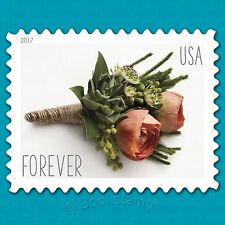 20 Forever Stamps US Celebrate Wedding Rose Floral Bouque Flower Boutoniere RSVP