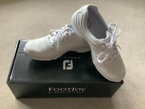 Ladies White Footjoy EmBody Golf Shoes Size 4 New in Box