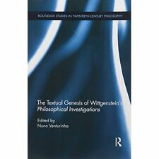 The Textual Genesis of Wittgenstein's Philosophical Investigations by Taylor...
