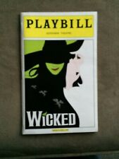 WICKED COLOR COVER PLAYBILL ANA GASTEYER, KATE REINDERS, CAROL KANE