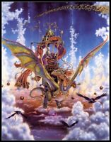 Dragon Flight - Chart Counted Cross Stitch Pattern Needlework Xstitch craft DIY