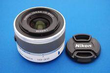 Nikon 1 NIKKOR 10-30mm f/3.5-5.6 AS VR SIC IF Lens For Nikon 1 Camera (White)