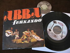 "7"" Single ABBA Fernando Tropical Loveland 1976 Italy   VG+ to EX"