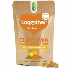 Together WholeHerb Curcumin & Turmeric Root with Piperine Extract 30 Vegecaps